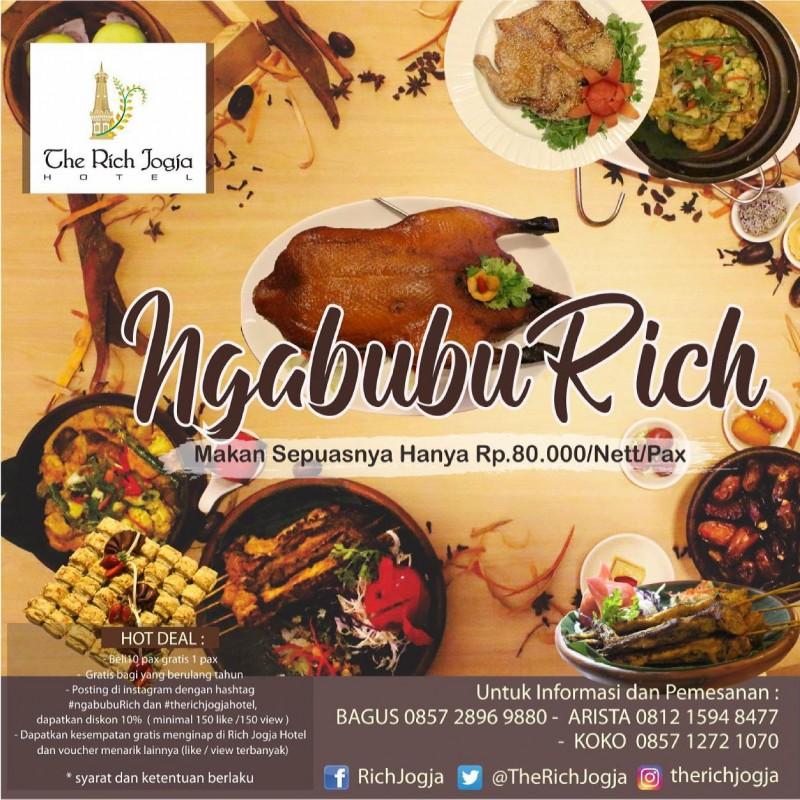 Hidangan Lezat Menu Buka Puasa di The Rich