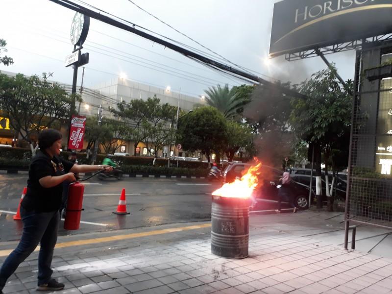 Hotel Horison Yogyakarta Selenggarakan Training Fire Drill & Simulasi Guna Menghadapi Terjadinya Kebakaran