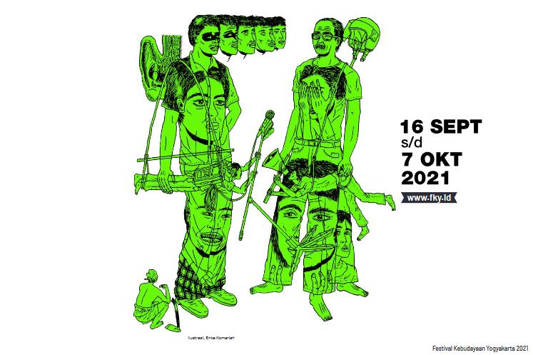 Festival Kebudayaan Yogyakarta 2021 - MEREKA REKAM