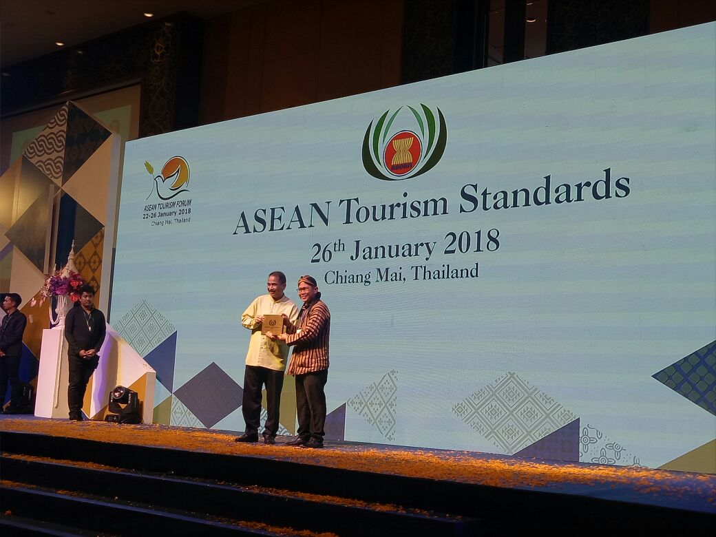 Hyatt Regency Yogyakarta Terima Penghargaan ASEAN Green Hotel Standart  Award 2018