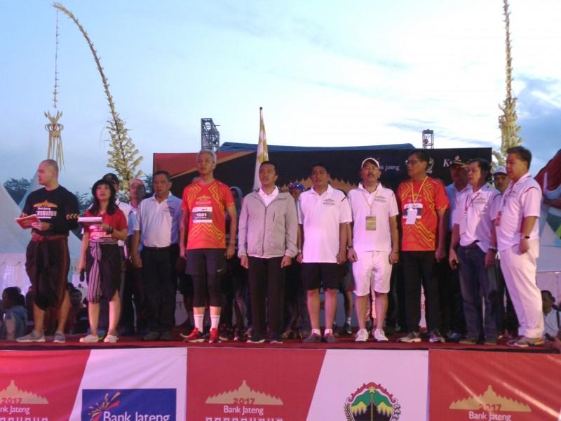 Bank Jateng & Kompas Selenggarakan Borobudur Marathon 2017