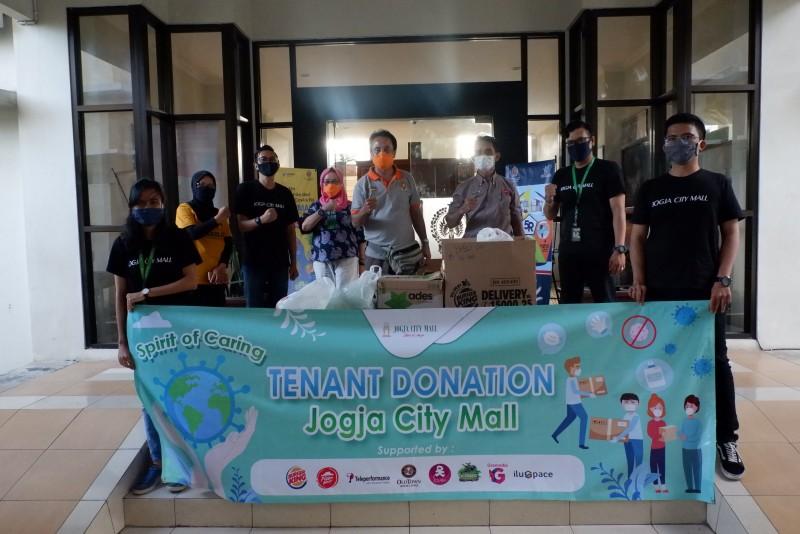 Spirit of Caring Jogja City Mall: Tenant Donation Untuk Pejuang Covid-19