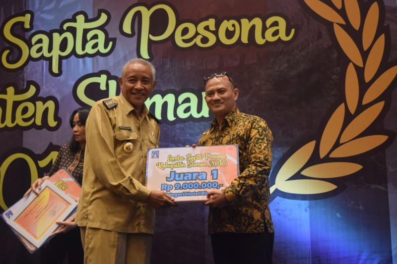Hotel Alana Yogyakarta Meraih Juara Pertama Lomba Sapta Pesona