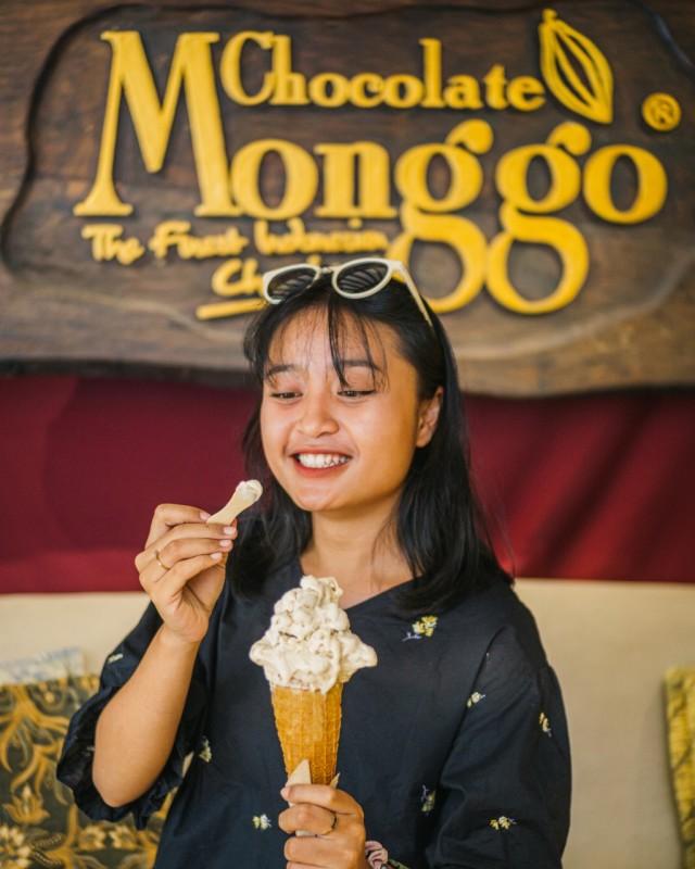 Gelato Kolak khas Chocolate Monggo Sajian Istimewa untuk Berbuka Puasa