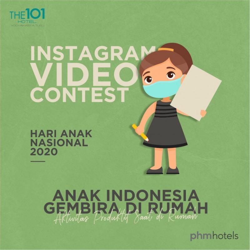 THE 1O1 Yogyakarta Tugu Adakan Instagram Video Contest dalam Rangka Memperingati Hari Anak Nasional