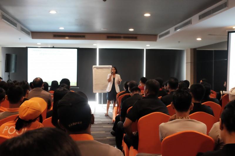 Harper Mangkubumi Gelar Sosialisasi Pencegahan Virus Corona COVID19