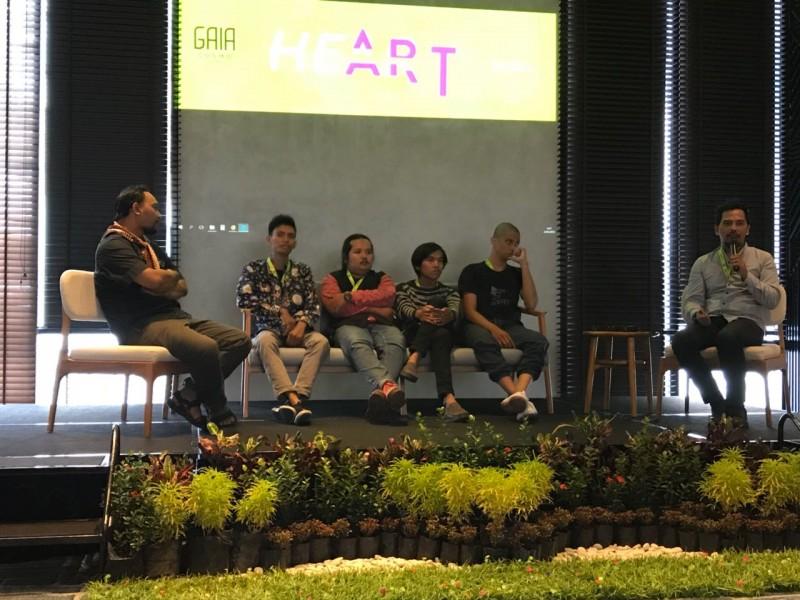 GAIA Cosmo Hotel Yogyakarta Dukung Kesenian Lewat