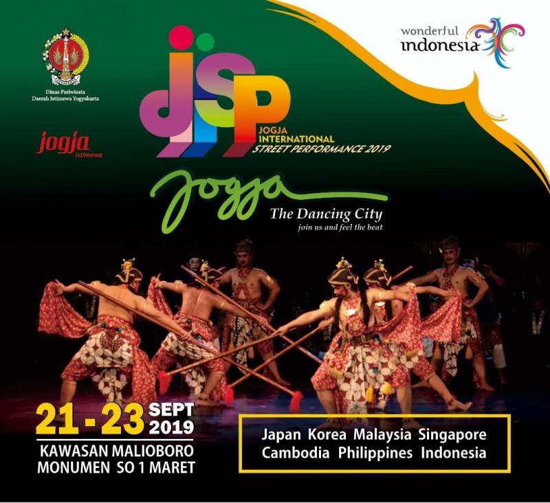 Jogja International Street Performance 2019 Angkat Tema