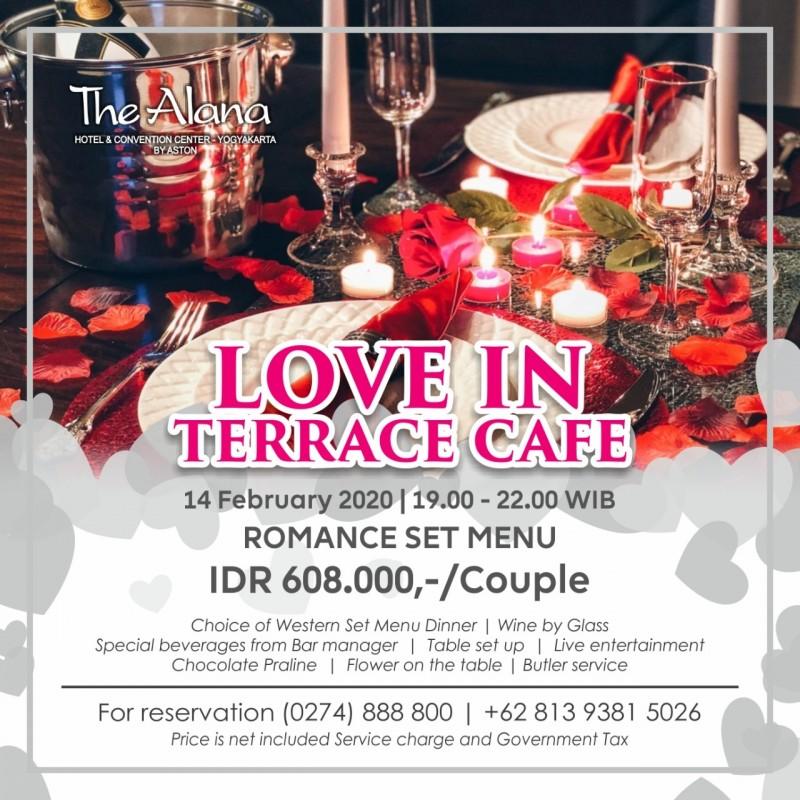 The Alana Yogyakarta Hadirkan Nuansa Romantis Di Hari Kasih Sayang