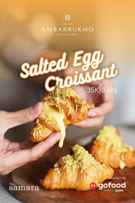 Grand Ambarrukmo Hotel Bikin Cemilan Yummy – Salted Egg Croissant
