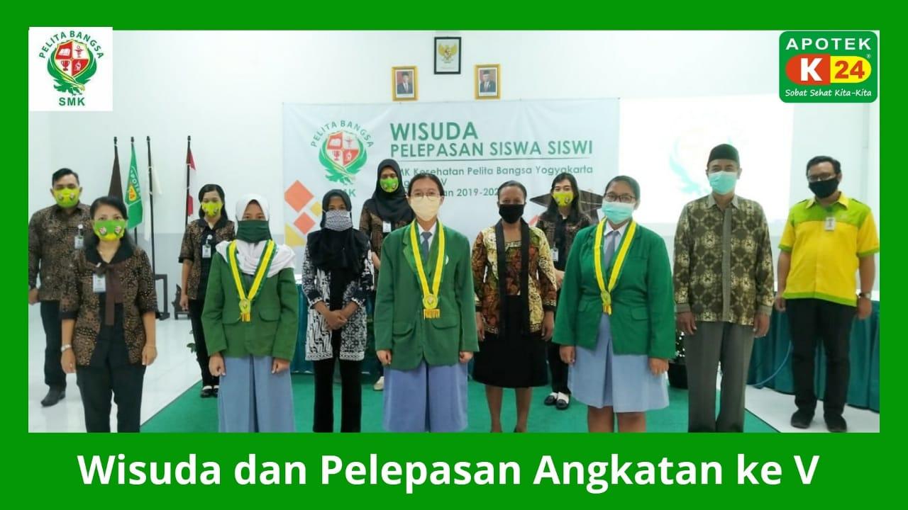 Wisuda Generasi Virtual Angkatan Corona SMK Kesehatan Pelita Bangsa, Langsung Kerja di Apotek K-24 Indonesia