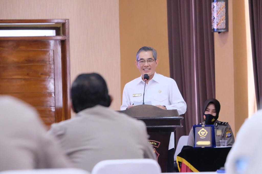 BPK RI Lakukan Pemeriksaan Interim Terhadap Laporan Keuangan POLRI Tahun 2020 Di POLDA DIY