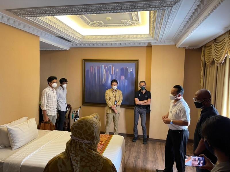 Fasilitas Isolasi Mandiri di The Rich Jogja Hotel