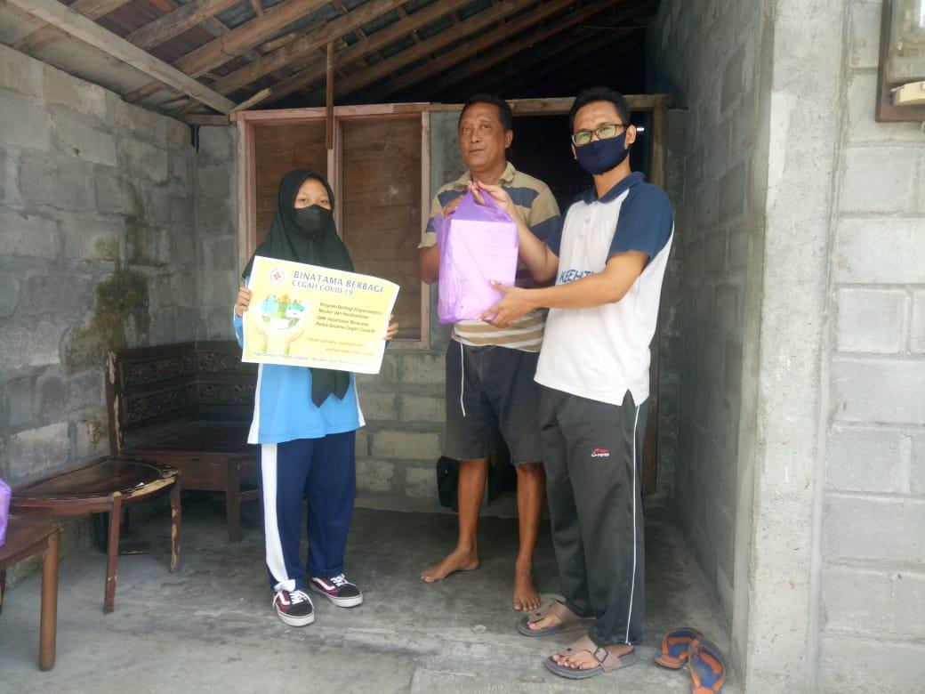 SMK Kesehatan Binatama Berbagi Bekal Sehat Gizi Seimbang