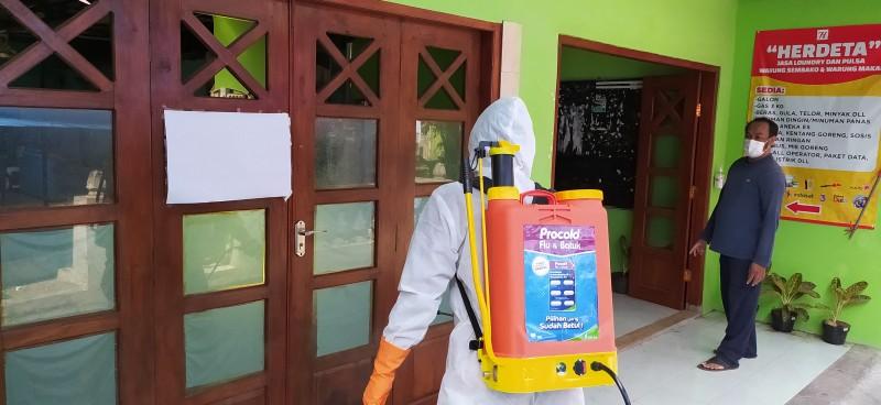 Procold Giatkan CSR Penyemprotan Disinfektan Guna Tekan Penyebaran Virus Corona Di Yogyakarta