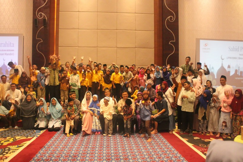 Ratusan Anak Panti Asuhan Memadati Indraprasta Gand Ballroom
