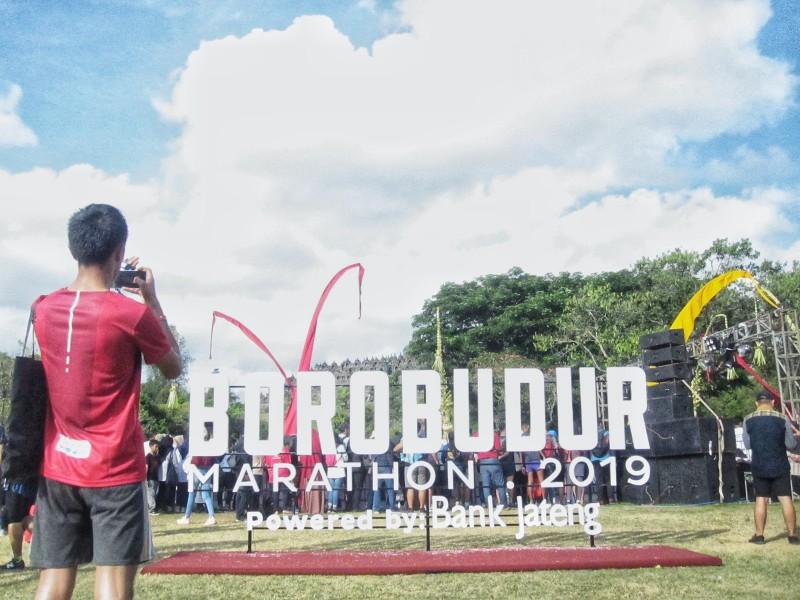 11.000 Pelari Ikut Meriahkan Borobudur Marathon 2019 powered by Bank Jateng