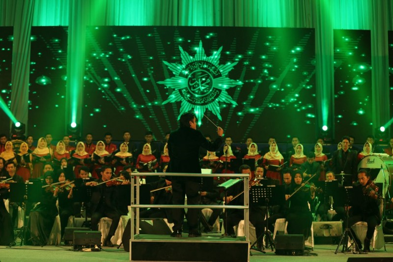 Konser Orkestra Simfoni Negeri Berkemajuan di UMY Penuh Kejutan