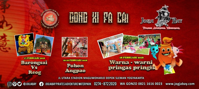 Jogja Bay Gelar Festival Imlek 2018