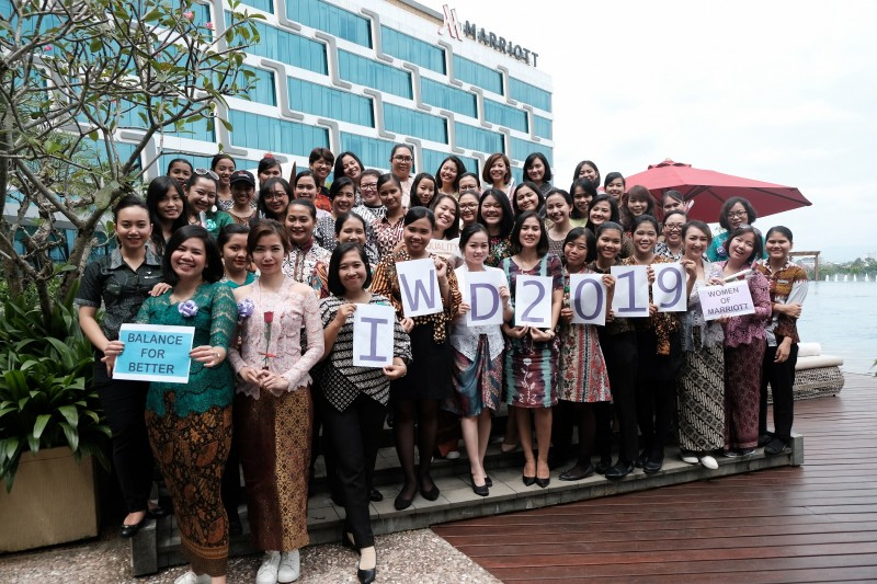 Yogyakarta Marriott Hotel Memperingati International Women's Day