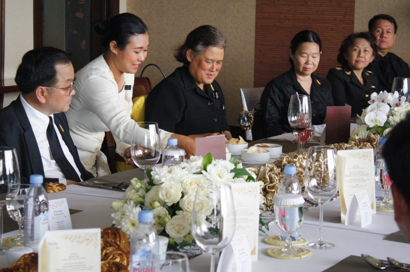 Sheraton Mustika Yogyakarta Menerima Kunjungan Putri Kerajaan Thailand.