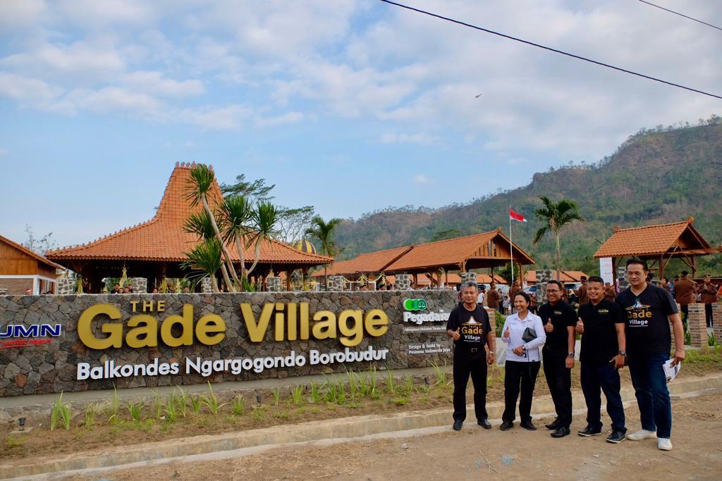 Menteri BUMN Resmikan Balkondes The Gade Village PT. Pegadaian (Persero)