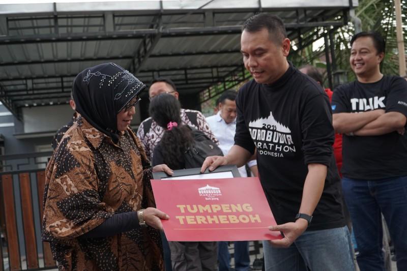Borobudur Marathon 2019 Membuka Aktivitas Berbasis Pengembangan Masyarakat