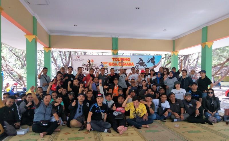 150 Motor Ikuti Touring Kemerdekaan Sahid Raya Hotel & Convention Yogyakarta