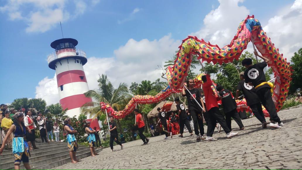"Pertunjukkan ""Barongsai vs Bajak Laut"" lengkapi liburan Imlek di Jogja Bay Waterpark"