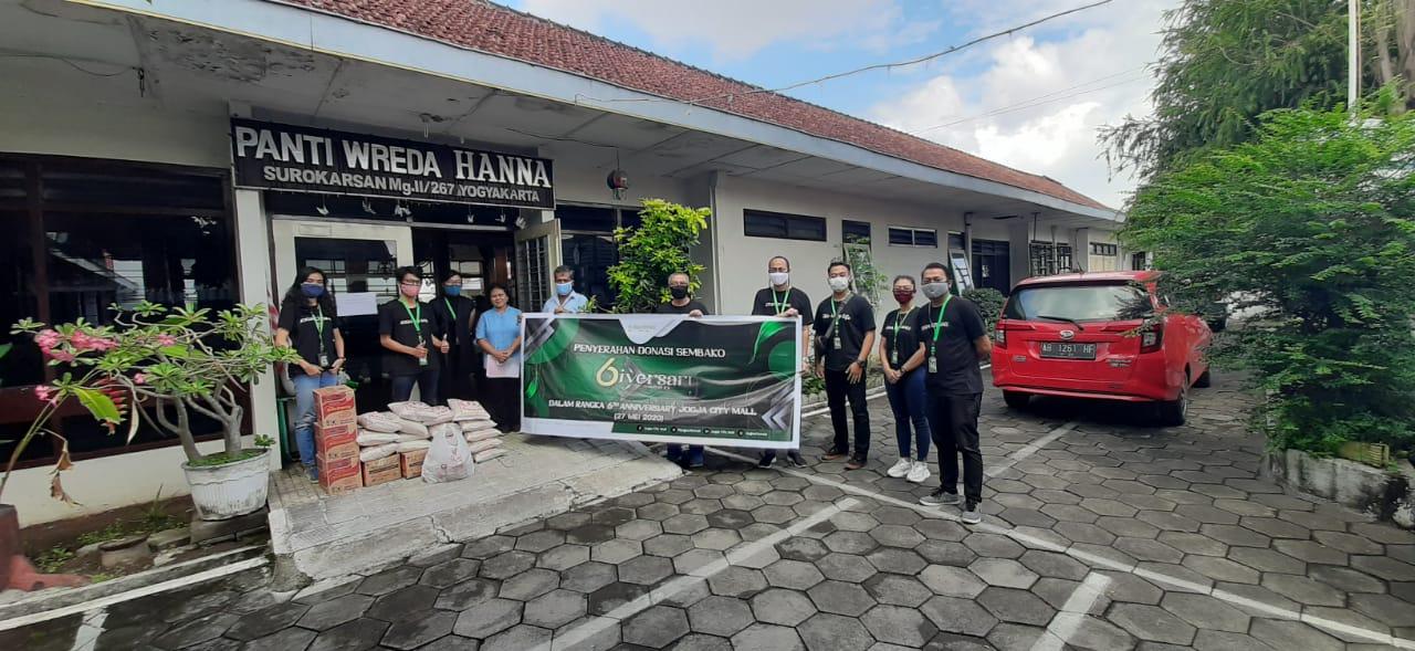 """""""Giversary"""" Jogja City Mall : Rayakan Anniversary ke -  6 dengan Berbagi untuk Sesama"""