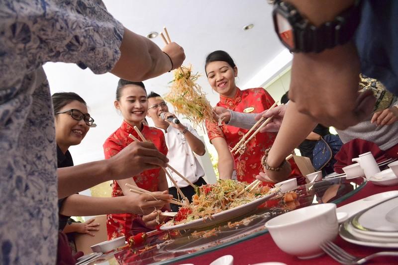 Sajian Menu Tahun Baru Imlex di Royal Ambarrukmo Yogyakarta