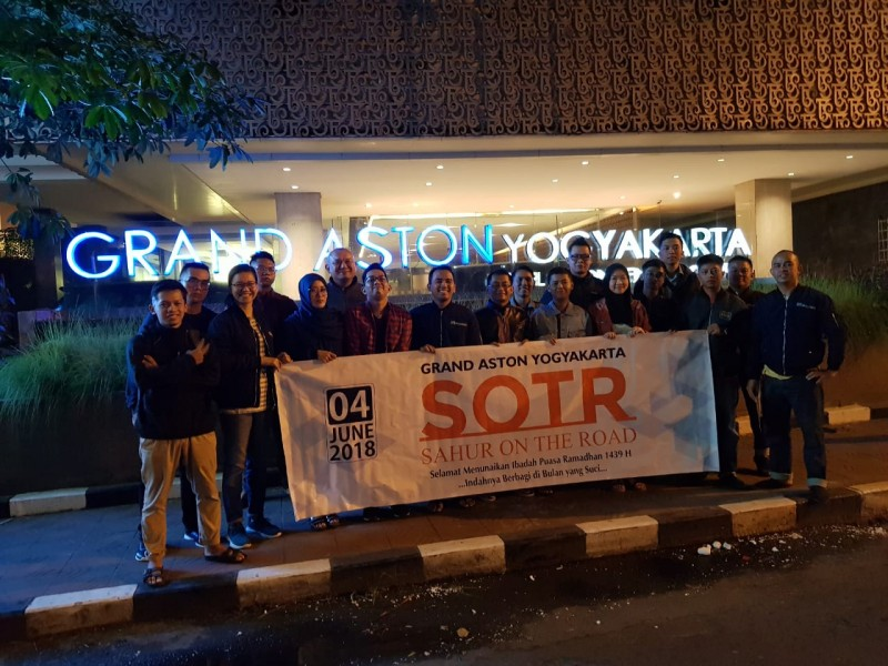 Grand Aston Jogja Gelar Aksi Sosial di Bulan Ramadhan
