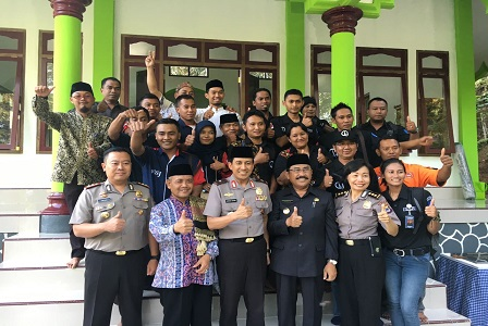 KAPOLDA DIY Resmikan Masjid  Al Bayan Kulonprogo
