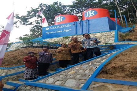 Bank Indonesia Serahkan Bantuan Sumur Bor Dan Air Bersih Bagi Warga Gunung Kidul