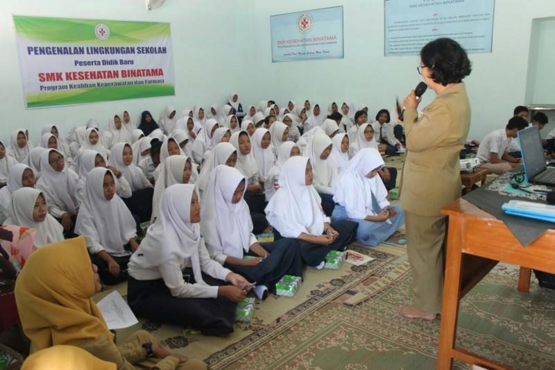 Sekolah SMK Kesehatan Binatama Yogyakarta Gelar Masa Pengenalan Lingkungan Sekolah Kepada Siswa Baru