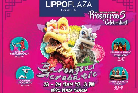Prosperous Celebration Memberikan Nuansa Imlex di Lippo Plaza Jogja
