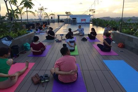 Innside Melia Yogyakarta Tawarkan Program Hidup Sehat Dengan Yoga