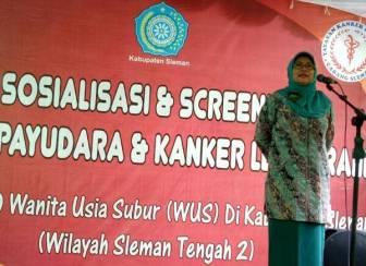 Sosialisasi dan Screening Kanker Payudara dan Kanker Leher Rahim untuk 1.000 Wanita