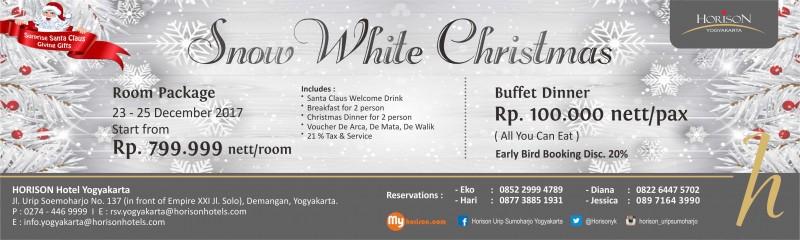 Sambut Natal Hotel Horison Yogyakarta Gelar