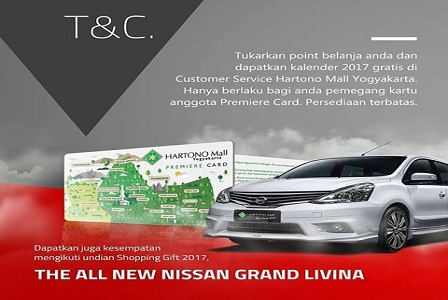 All New Grand Livina Bagi Member Premiere Card Hartono Mall