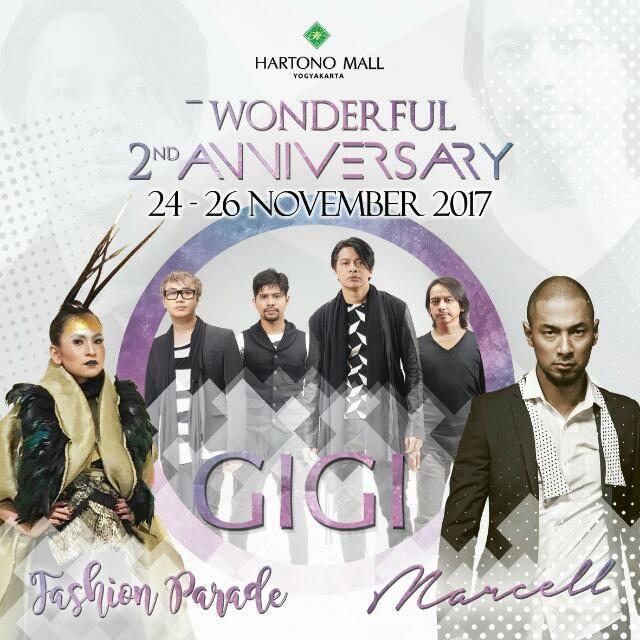 Wonderfull 2nd Anniversary Hartono Mall Yogyakarta